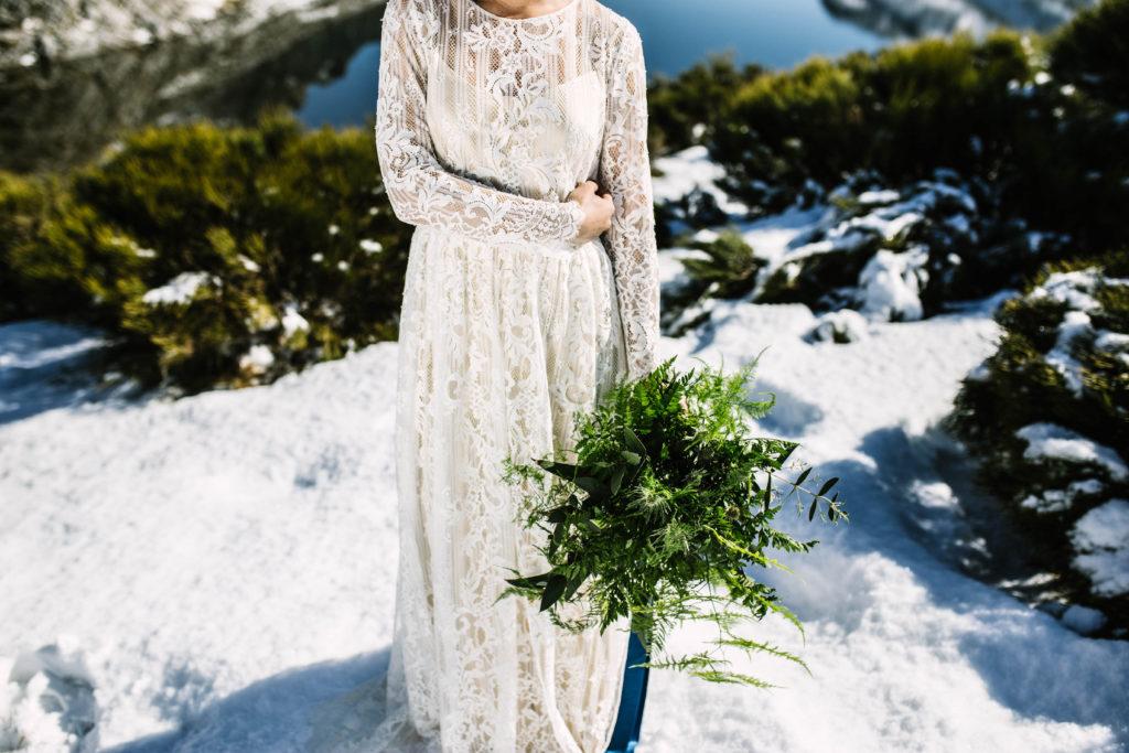 vestido de novia de invierno immacle