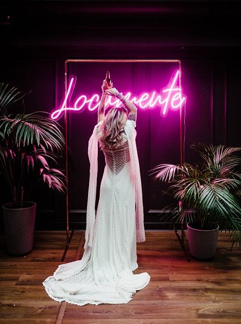 neones para bodas