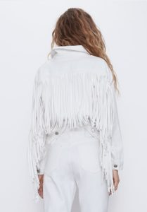chaqueta blanca zara