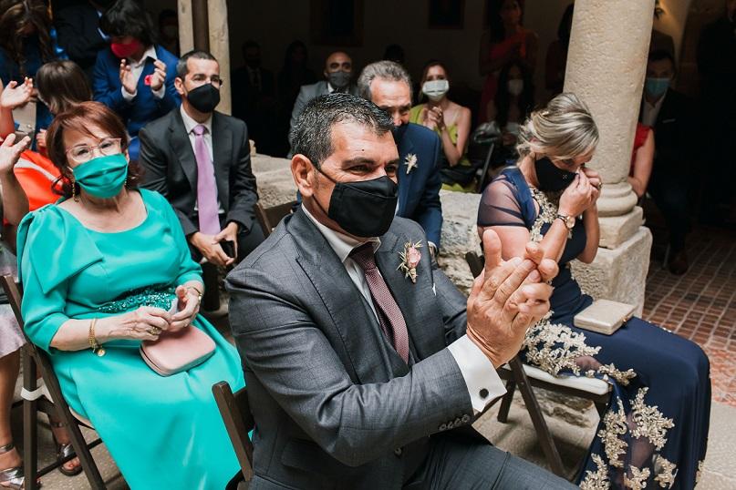 bodas con mascarilla