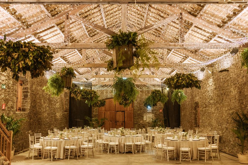 decoración jardin boda